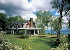 Dutch Colonial . house . waterfront .
