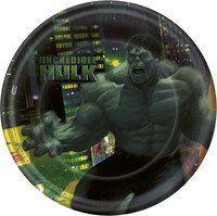 Incredible Hulk Dessert Plates 8ct by HALLMARK MARKETING CORPORATION, http://www.amazon.com/dp/B001Q5QM9Q/ref=cm_sw_r_pi_dp_t8Tlrb0DM2JSF