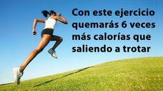 Con este ejercicio quemarás 6 veces más calorías que saliendo a trotar