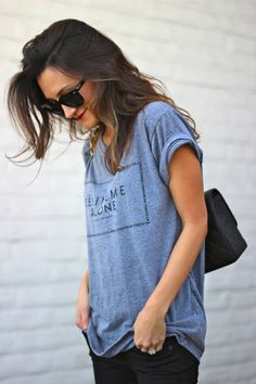 the way to wear tees