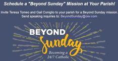 Beyond Sunday: Becoming a Catholic Catholic Blogs, Catholic News, Year Of Mercy, Pope John Paul Ii, Pope Francis, Lent, How To Become, Parents, Sunday