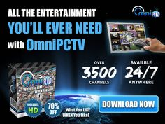 'OmniPCTV's online TV technology allows you to watch over HD channels right on your PC. Watches Online, Music Artists, Movie Tv, Promotion, Alternative, Channel, Advertising, Entertainment, News