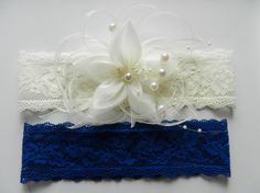Wedding Garter Belt Bridal Garter Set Garter Wedding by garteronly, $29.00