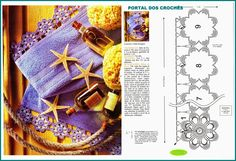 PORTAL OF crochets: CROCHET FOR LOCKED IN BATH TOWELS