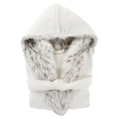 You'll never want to take off this ultra-stylish robe. Lined with our sumptuously soft faux-fur, it's perfect for lounging around your space or cuddling up with a good book. Faux Fur Collar, Fur Collars, Cute Girls Hairstyles, Pottery Barn Teen, Good Hair Day, Fur Trim, Hoods, Fashion Beauty, Stylish