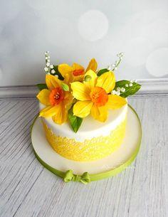 торты 2016 - 2017 – 231 фотография Birthday Cakes For Women, Cake Birthday, Desserts, Vintage, Food, Decorating Cakes, Flowers, Ladies Birthday Cakes, Tailgate Desserts