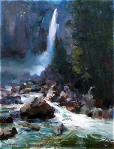 oil paintings by Henry Yan, impressionism art