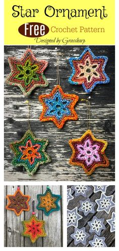 nice Bethlehem Star Ornament Free Crochet Pattern medianet_width = medianet_height = medianet_crid = medianet_versionId = (function() { var isSSL = 'https:' ==. Crochet Christmas Ornaments, Holiday Crochet, Crochet Gifts, Diy Crochet, Crochet Things, Christmas Star, Crochet Star Patterns, Crochet Stars, Knitting Patterns Free