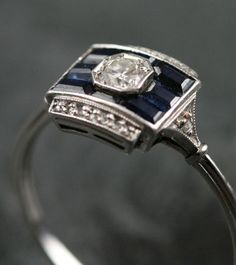 Gorgeous deco ring inspiration
