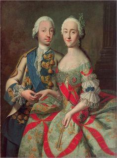 Maria Carolina d'Autriche reine de Naple et de Deux Sicile by Jean Etienne Liotard