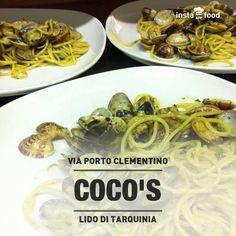 Spaghetti alle vongole. Coco's - Pizza e Cucina Mediterranea - Tarquinia Lido (Vt) 338/6064127