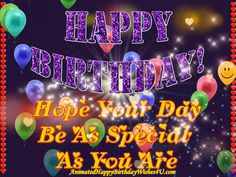 Buy Happy Birthday Glitter Words from Animated Happy Birthday Wishes Videos Happy Birthday Cards Images, Animated Happy Birthday Wishes, Happy Easter Wishes, Birthday Wishes Greetings, Happy Birthday Wishes Images, Happy Birthday Celebration, Happy Birthday Flower, Happy Birthday Video, Happy Birthday Pictures