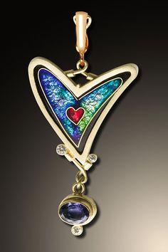 Scarf Jewelry, Jewelry Art, Vintage Jewelry, Jewelry Design, Metal Clay Jewelry, Enamel Jewelry, Jewelry Findings, Unusual Jewelry, Art Nouveau Jewelry