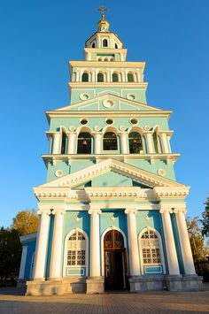 Uzbekistan, Tashkent, Russian Orthodox Church by MY2200, via Flickr