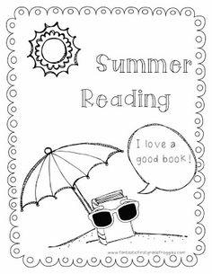 Summer Reading Journal~ FREEBIE!