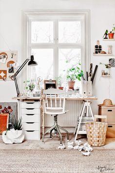 VINTAGE: Sala de trabajo en tres estilos en Dream Homes & Garden