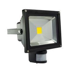 20W LED-Baulampe Grau 3000K