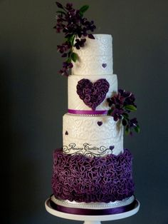 Purple - Cake by Peggy ( Precious Taarten)