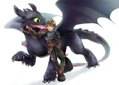 im dying of cuteness *coughs* uh *chokes* uh. *gets nudged by toothless* ok ok im ok! *falls on to toothless for a hug* Dragons Le Film, Httyd Dragons, Dreamworks Dragons, Dreamworks Animation, Disney And Dreamworks, Toothless And Stitch, Hiccup And Toothless, Croque Mou, Dragon Series