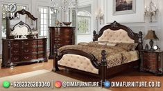 5 Piece Bedroom Set, Bedroom Sets, Bedding Sets, Dark Brown Bedrooms, 2 Piece Sectional Sofa, L Shaped Couch, Cherry Brown, Linen Sofa, Headboard And Footboard