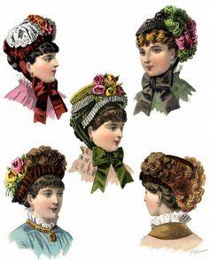 Victorian bonnets