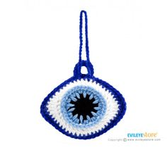 Rear View Mirror Hangers - Evil Eye Charm