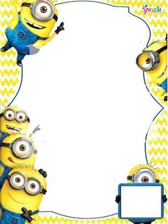 New minions invitation template Ideas Free Online Birthday Invitations, Minion Birthday Invitations, Birthday Invitation Templates, Invitation Maker, Invitation Cards, Minions Birthday Theme, Minion Theme, First Birthday Parties, Birthday Cakes