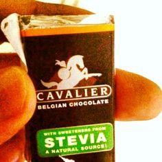 Cavalier - #Chocolate con #stevia en diversos sabores #fitness