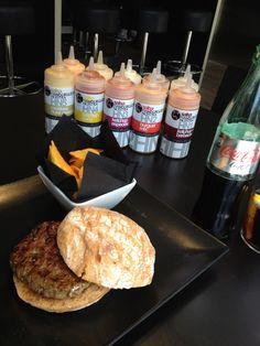 Menu hamburguesa de buey Gallego de Raza Rubia