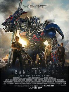 """""""Transformers : l'âge de l'extinction"""" - 2014"""