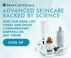 Sign-up for our newsletter today and enjoy complimentary shipping on your first order! Advanced skincare backed by science Targeted for females 40+ in the U.S.  Skincare Antioxidents Sunscreens Corrective Serums Anti-aging Skin Explained