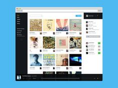 Music Web Application by Victor Erixon