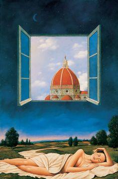 Rafal Olbinski, 1945 | Surrealist / Visionary painter | Tutt'Art@ | Pittura * Scultura * Poesia * Musica |