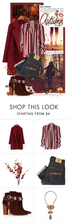 """""""Autumn is Here!!!"""" by shortyluv718 ❤ liked on Polyvore featuring GE, Frame Denim, Nudie Jeans Co., Warehouse, NOVICA and Madina Visconti di Modrone"""