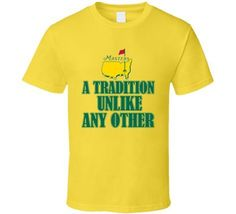 Masters Golf Tournament 2015 Tradition Sports Fan T Shirt