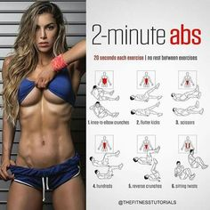 Should You Do Ab Workouts Every Day? Whether you're a beginner or a seasoned athlete, there's a workout for everyone. Exercises such as the Heel Touch won't take long to master, but advanced moves like the Jackknife Crossover will require coordination and a high degree of core strength. Download Adrian James 6 Pack Abs Workout and put all 6 exercises ...