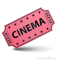 Age Of Empires, Ticket Cinema, Pink Tickets, Marquee Events, Movie Reels, Ticket Design, Rainbow Rowell, Movie Tickets, Movie Party
