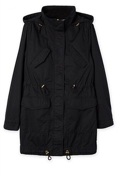 Washed Drill Parka