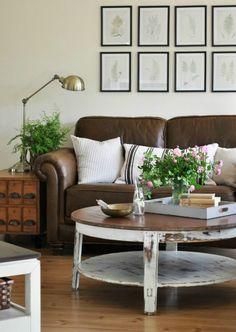 Brown lounge suite decor