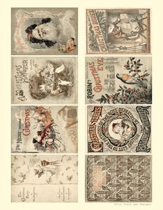 free christmas vintage printable   Jodie Lee Designs: 12 Days of Christmas Giveaways - Day 4