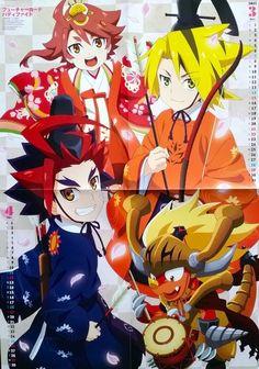 ANIME BIG PROMO POSTER - Future Card Buddyfight - Official Japanese Goods RARE picclick.com