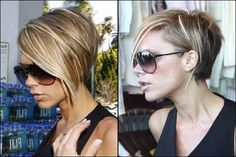Victoria Beckham's short hair