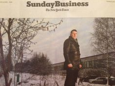 The feature article in the Sunday Business section of The New York Times is very interesting! In a nutshell, being an entrepreneur in Russia is rife with danger. The totalitarian state is deeply suspicious of business activity that is not state sponsored, corruption is rampant, and competitors often go to local law enforcement who prosecute private businessmen with relative impunity. Putin has recently pardoned Khodorkovsky, the billionaire oligarch who was imprisoned on dubious charges
