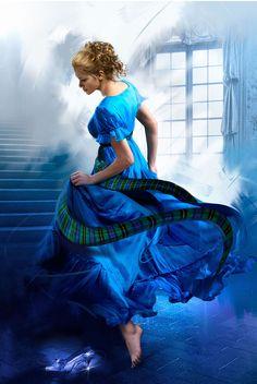 The Prince Who Loved Me (by Jon Paul Studios) [blue dress]