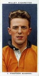 1935-36 W.D. & H.O. Wills Association Footballers #18 Jimmy Hampson  Front