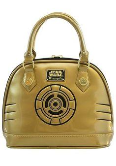 Loungefly C-3PO Mini Dome Bag Purse