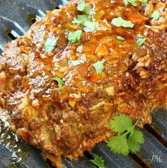 Mexican Meatloaf Recipe a spicy spin on the classic meatloaf. This hearty meatloaf recipe uses Mexican flavors of cumin, cilantro, green chiles & chorizo.