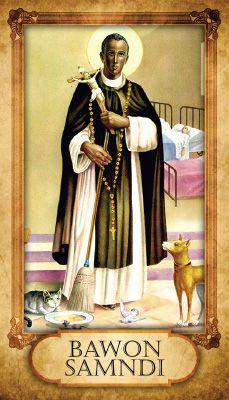 Prayer Card - Bawon Samndi (Baron Samedi)