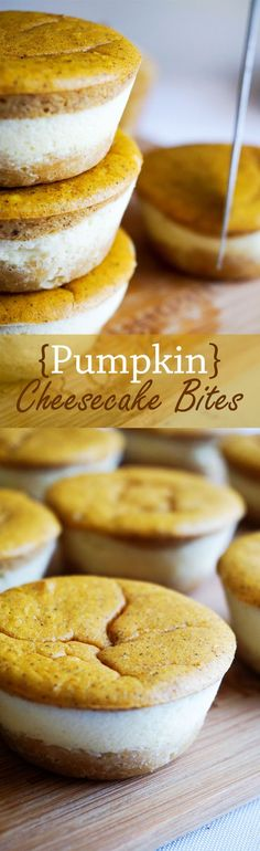 Keto Pumpkin Cheesecake Cupcakes - Fall summarized in 3 layers of deliciousness.