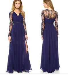 Long Prom Sexy Dress Party High Quality Dress Lace Dress Runaway on Luulla